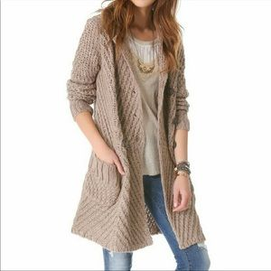 Free People Buttermilk Biscuit Wool/Alpaca Sweater